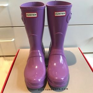 Hunter Original Short Rain Boots Size 8